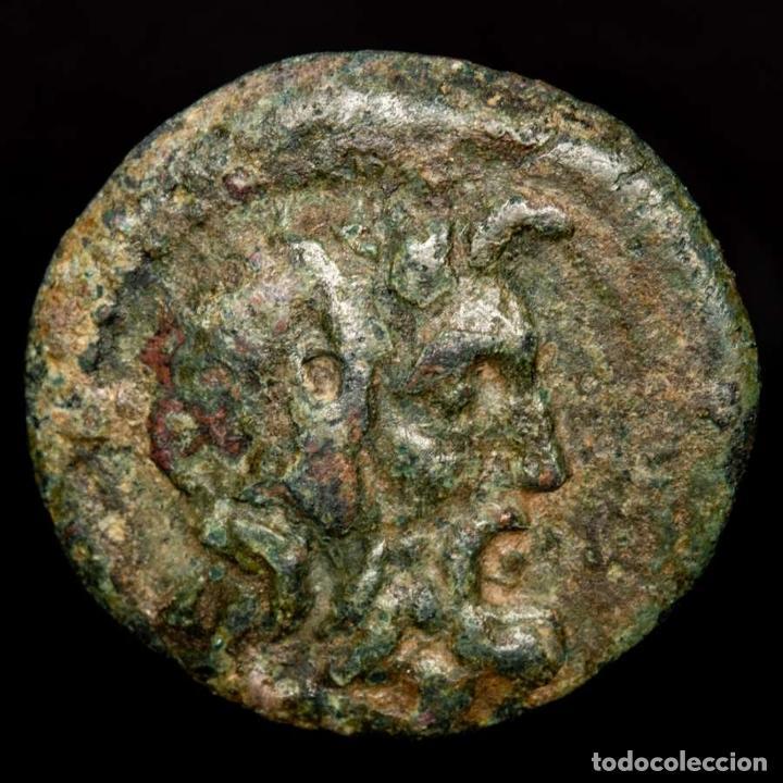 Monedas Grecia Antigua: Laconia Esparta Æ 22 31-32 aC. - Zeus / ?-A E?I EY?YK?EO? Maza. - Foto 2 - 222686785