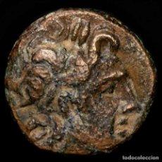 Monedas Grecia Antigua: AITOLIA, AITOLIAN LEAGUE - Æ 16 211-196 AC. - LANZA, UVAS, JABALI. Lote 222777550