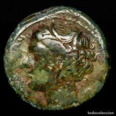 Monedas Grecia Antigua: SISICLIA, SIRACUSA. HIERON II 275-215 AC -Æ 20 - KORE / TORO.. Lote 222803778