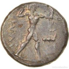 Monedas Grecia Antigua: MONEDA, BRUTTIUM, KAULONIA, STATER, 475-425 BC, MBC+, PLATA, HN ITALY:2046. Lote 228312535