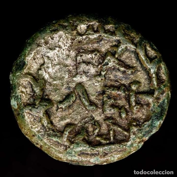 Monedas Grecia Antigua: Grecia - Bronce de Olympia (Peloponeso) Apollo / FAΛΕΙΩN en corona - Foto 4 - 234899850