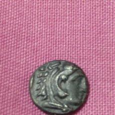 Monedas Grecia Antigua: DIOBOLO PERGAMO (MYSIA) (310-284 A.C.) SEABY 3942 CABEZA DE HERACLES. REVERSO: ATHENA CON LANZA. Lote 237499220
