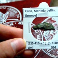 Monedas Grecia Antigua: MONEDA DELFIN DE OLBIA (525-410 A.C). Lote 237906840