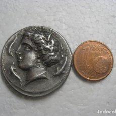 Monedas Grecia Antigua: SIZILIEN. SYRAKUS. AGATHOKLES, 317 - 289 V. CHR. TETRADRACHME Ø 28MM (17,20G). 310 - 305 V. CHR. VS.. Lote 237928285