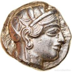 Monedas Grecia Antigua: MONEDA, ATTICA, ATHENS, TETRADRACHM, 490-407 BC, ATHENS, MBC+, PLATA, SNG-COP:31. Lote 243967610