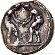 Monedas Grecia Antigua: MONEDA, PAMPHYLIA, ASPENDOS, STATER, ASPENDOS, MBC, PLATA, SNG-FRANCE:105. Lote 243991405