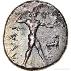 Monedas Grecia Antigua: MONEDA, BRUTTIUM, KAULONIA, STATER, 475-425 BC, MBC+, PLATA, HN ITALY:2046. Lote 243996665
