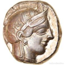 Monedas Grecia Antigua: MONEDA, ATTICA, ATHENS, TETRADRACHM, 490-407 BC, ATHENS, EBC, PLATA, SNG-COP:31. Lote 244005480