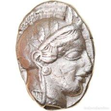 Monedas Grecia Antigua: MONEDA, ATTICA, ATHENS, TETRADRACHM, 490-407 BC, ATHENS, MBC, PLATA, SNG-COP:31. Lote 244006000
