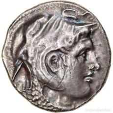 Monedas Grecia Antigua: MONEDA, EGYPT, PTOLEMY I SOTER, TETRADRACHM, 311-305 BC, ALEXANDRIA, EBC, PLATA. Lote 244008830