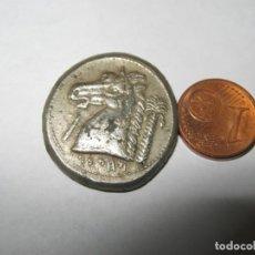 Monedas Grecia Antigua: A.MACHAMACHANAT.TETRADRACHM. ALREDEDOR DEL 300 A.C. CHR. HERAKLES-MELKARTKOPF CON PIEL DE LEÓN R. RS. Lote 244010570