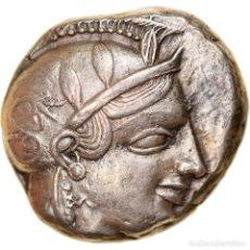 Monedas Grecia Antigua: MONEDA, ATTICA, ATHENS, TETRADRACHM, 455-449 BC, ATHENS, MBC, PLATA, SNG-COP:31. Lote 244013865