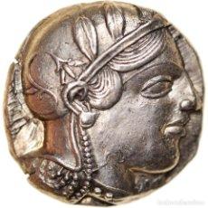 Monedas Grecia Antigua: MONEDA, ATTICA, ATHENS, TETRADRACHM, 455-449 BC, ATHENS, EBC, PLATA, SNG-COP:31. Lote 244013065