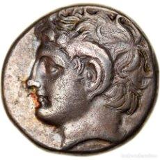 Monedas Grecia Antigua: MONEDA, KYRENAICA, KYRENE, MAGAS, DIDRACHM, 300-275 BC, MBC+, PLATA. Lote 244013860