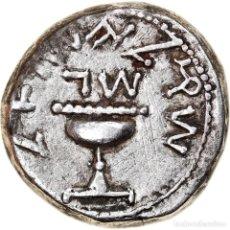 Monedas Grecia Antigua: MONEDA, JUDAEA, FIRST JEWISH WAR, SHEKEL, YEAR 3 (68/69 AD), JERUSALEM, MBC. Lote 244019325