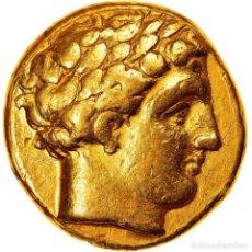Monedas Grecia Antigua: MONEDA, KINGDOM OF MACEDONIA, PHILIP II, STATER, 325-310 BC, PELLA, MBC+, ORO. Lote 244019200