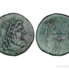 Monedas Grecia Antigua: MONEDAS GRIEGAS, AS, 192-89 A.C., BRUTTIUM. VIBO VALENTIA (HIPPONION). Lote 245394600