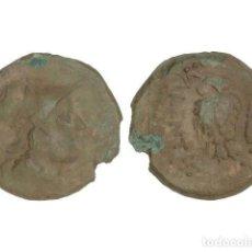 Monedas Grecia Antigua: MONEDAS GRIEGAS, TRIENS, 193-150 A.C., BRUTTIUM, VIBO VALENTIA (HIPPONION). Lote 245394615