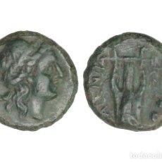 Monedas Grecia Antigua: MONEDAS GRIEGAS, SEXTANS, 192-89 A.C, BRUTTIUM. VIBO VALENTIA (HIPPONION). Lote 245394625