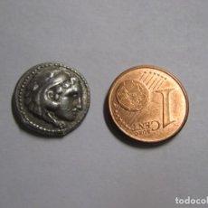 Monedas Grecia Antigua: MACEDONIA DRACHMA ALEJANDRO III. 336-323 A. C. PLATA CHR. 3.4 GR. Lote 245918410