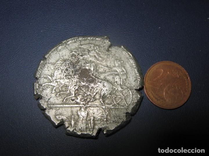 LOS HIJOS DEL DRAMA SIRACO 37,60 GR PLATA DESPERDICIAL: CABEZA DEL EMPERADOR DESCONOCIDA (Numismática - Periodo Antiguo - Grecia Antigua)