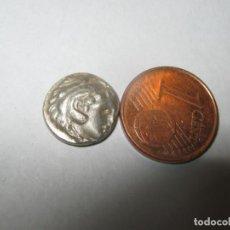 Monedas Grecia Antigua: MACEDONIA DRACHMA ALEJANDRO III. 336-323 A. C. PLATA CHR. 2,20 GR. Lote 255561650