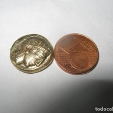 Monedas Grecia Antigua: 4,4 G DRAMATISMO DE BRONCE DORADO, ATENAS CON UN BÚHO EN LA ESPALDA. PRIMERA ACUÑADA CA400 BC. Lote 258936180