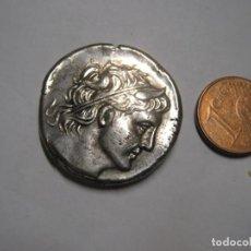 Monedas Grecia Antigua: DEMETRIOS POLIORCETES,KINGS OF MACEDON-AR TETRADRACHM 16,60 GR DI DRACME. Lote 259758905