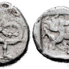 Monedas Grecia Antigua: PAMPHYLIA. ASPENDOS. ESTÁTERA. 465-430 A.C. AG. 10,62 G. CORTE DE PRUEBA. MBC+. Lote 261966975