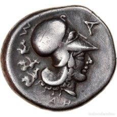 Monedas Grecia Antigua: MONEDA, EPEIROS, AMBRAKIA, STATER, 404-360 BC, MBC, PLATA, PEGASI:60. Lote 262768575