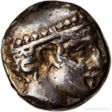 Monedas Grecia Antigua: MONEDA, THRACE, DIOBOL, 435-405 BC, AINOS, BC+, PLATA, HGC:3.2-1277. Lote 262768585