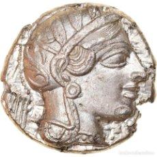 Monedas Grecia Antigua: MONEDA, ATTICA, ATHENS, TETRADRACHM, 490-407 BC, ATHENS, MBC+, PLATA, SNG-COP:31. Lote 262777405