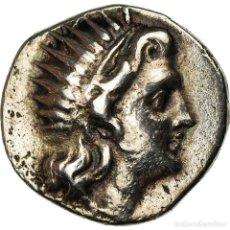 Monedas Grecia Antigua: [#861428] MONEDA, CARIA, ARISTOBOULOS, DRACHM, 188-170 BC, RHODES, MBC+, PLATA. Lote 269076763