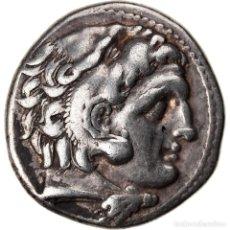 Monedas Grecia Antigua: [#858470] MONEDA, KINGDOM OF MACEDONIA, DRACHM, COLOPHON, MBC, PLATA. Lote 269167823