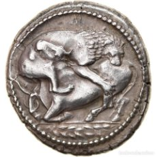 Monedas Grecia Antigua: [#897825] MONEDA, MACEDONIA, AKANTHOS, TETRADRACHM, 480-424 BC, MBC+, PLATA, HGC:3.1-385. Lote 278161353