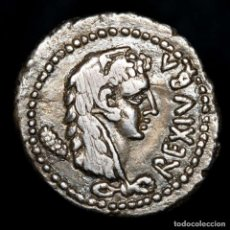 Monedas Grecia Antigua: MAURITANIA JUBA II DENARIO (AÑO 42 = 17-18 D.C.) ARCO, MAZA, FLECHA. Lote 278214923