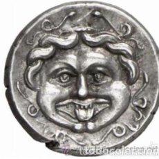 Monedas Grecia Antigua: MONEDA GRIEGA PLATA HEMIDRACMA MISIA PARION GORGONA SIGLO 4º PRECIOSA MONEDA EX- NUMISMATIK LANZ. Lote 211456120