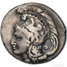 Monedas Grecia Antigua: [#970868] MONEDA, LUCANIA, VELIA, STATER, 300-280 BC, MBC+, PLATA, HN ITALY:1305. Lote 293594803