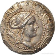 Monedas Grecia Antigua: [#970719] MONEDA, MACEDONIA (ROMAN PROTECTORATE), TETRADRACHM, AMPHIPOLIS, EBC, PLATA. Lote 293596308