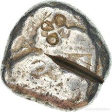 Monedas Grecia Antigua: [#909591] MONEDA, LYCIA, STATER, PHASELIS, BC+, PLATA, SNG-COP:120. Lote 295396178