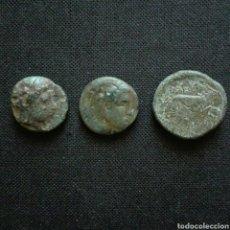 Monedas Grecia Antigua: LOTE DE 3 GRIEGAS. Lote 295502683