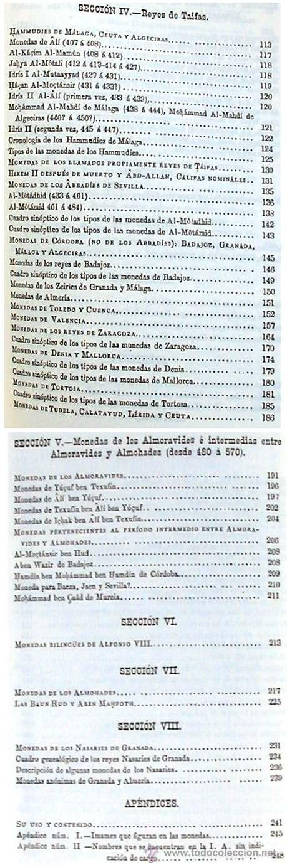 Reyca Banos.Tratado De Numismatica Arabigo Espanola Edici Sold