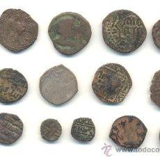 Monedas hispano árabes: BARATO LOTE DE CATORCE PIEZAS ORIENTALES. MUY INTERESANTES PARA SU ESTUDIO Y CLASIFICACIÓN.. Lote 34978913