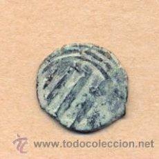 Monedas hispano árabes: MONEDA 488 MONEDA HISPANOARABE - MEDIAVAL . 2 GRMS COBRE 17 MM CERTIFICADO 4 EUR. Lote 36463010