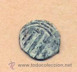 Monedas hispano árabes: MONEDA 488 MONEDA HISPANOARABE - MEDIAVAL . 2 GRMS COBRE 17 MM CERTIFICADO 4 EUR - Foto 2 - 36463010