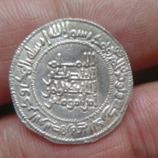 Monedas hispano árabes: IMPRESSSSIONANTE ,DIRHEM ABDERRAMAN III ,321 H.. Lote 38073799