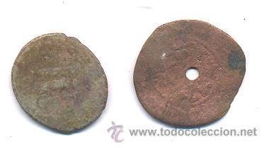 2 MONEDAS ARABES A ESTUDIAR (Numismática - Hispania Antigua - Hispano Árabes)