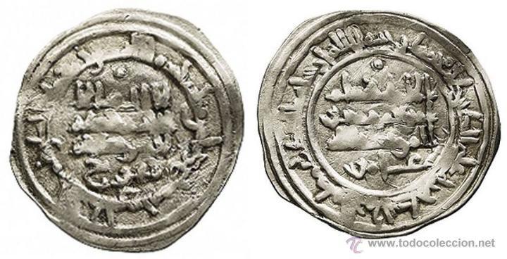 Monedas hispano árabes: DIRHEM. CALIFATO DE CÓRDOBA. HIXEM II . AL ANDALUS. 391 H - Foto 3 - 50638318