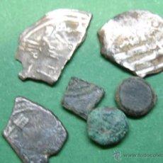 Lote de monedas hispano arabes