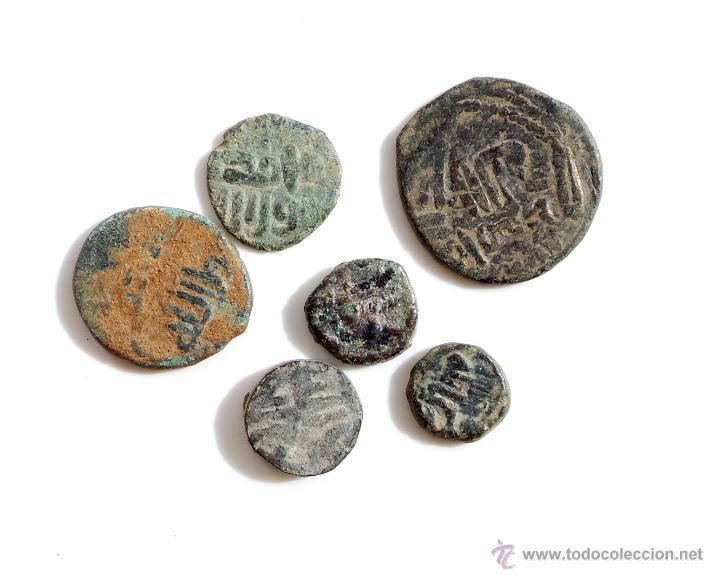 LOTE DE FELUSES DEL PERIODO DE LOS GOBERNADORES (Numismática - Hispania Antigua - Hispano Árabes)
